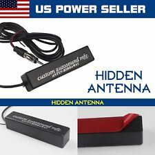 Universal Fit Car Hidden Amplified Antenna Kit 12v Electronic Stereo Am/Fm Radio