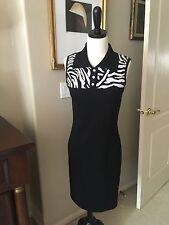 Stunning  St John Santana Knit Dress Size p Neiman Marcus $795 worn once