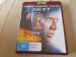 Next HD DVD Region Free Nicolas Cage, Julianne Moore