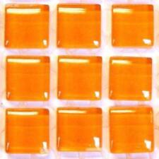 81 murrini verre cristal tuiles de Mosaïque - Mandarine