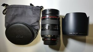 Canon EF 24-70mm f/2.8L Lens + original accessories (Cameras in other listings)