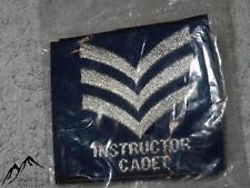 NEW Pair of British Military RAF Sergeant Sgt Instructor Cadet Rank Slide