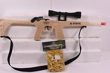 MAGNUM RUBBER BAND GUNS GL2JRSTNGSS JR.STINGER  RIFLE W/ SCOPE & SLING W/ AMMMO