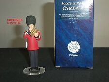 Corgi F07231 icône scots guards band cymbales player metal toy soldier figure