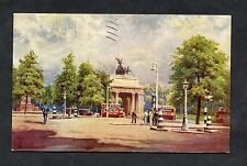 Artist, Oilette, View of the Arch of Victory, London. Stamp/Postmark - 1936
