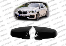 UKCARBON Gloss Black M Wing Mirror Cover Replacement For NEW BMW 1 SERIES F40