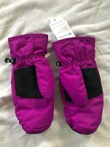 Girls Ski Mittens and socks