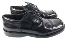 J.Crew Mens Sz 12 Black Oxford Dress Shoes Lace Up
