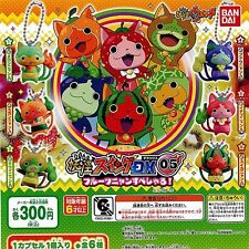 Yo-kai Watch Specter Swing Dx05 Fruit Nyan Special Tsu 6 Pics Set Bandai