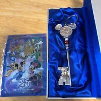 Tokyo Disney Resort Dream Key Chain 25th Anniversary from Japan