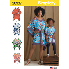 Simplicity Sewing 8937 A Kimono Child & Adult