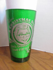 """A Christmas Story -16 oz. Drinking Glass- Ralphie - """"YOU'LL SHOOT YOUR EYE OUT!"""""""