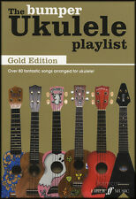 El parachoques Ukelele lista de reproducción Gold Edition Uke acorde Cancionero más de 80 canciones