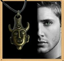 Supernatural pendentif Dean collier simple face amulette amulet Dean's necklace