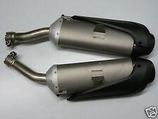 Original Auspuff links rechts Exhaust Muffler Yamaha R1 YZF 1000 Bj. 07-08