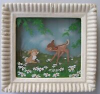 Walt Disney Multiplane Painting for Courvoisier:  Bambi & Thumper, early 1940's