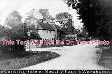 SX 58 - Coming Into A Model Village, Warnham, Sussex - 6x4 Photo