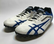 Asics Hypersprint 5 Running Track Spikes Shoes Blue White G306Y Mens Size 10
