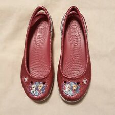 Crocs Frozen Anna & Elsa Sling Back Shoes J2