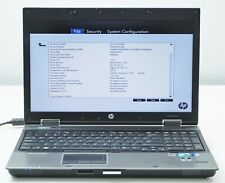 New listing Hp EliteBook 8540w Intel Core i7 M620 2.67Ghz 4Gb Nvidia Quadro Fx880M (No Hdd)