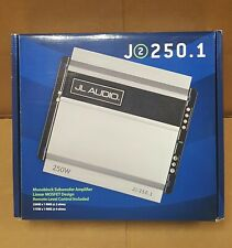 JL Audio J2-250.1 (99393) Monoblock 250 watt at 2 ohm Amplifier BRAND NEW in BOX