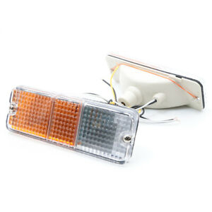 1986-1993 Mazda B2000 B2200 B2600 Bravo PAIR PARKING TURN LIGHT LAMP 2Pcs LH RH