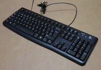 Logitech K120 Business Keyboard USB 920-002508 820-006546 Wired QWERTY English