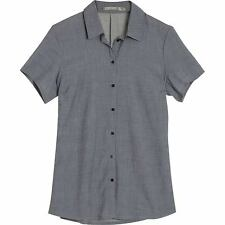 Icebreaker Kala SS Shirt (M) Fathom Heather