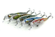 New 5pcs Lot Group Minnow 10.5cm/11g Fishing Lure Bass Crankbait Sinking Tackle