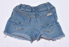 Toddler's HUDSON Blue Denim Shorts Bottoms Above Knee Girls Size 12M