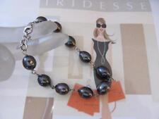 Tiffany & Co. Iridesse Oval Cultured Freshwater Purple-Gray Pearl Bracelet