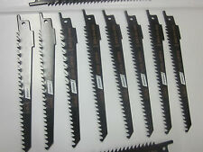 """100pc F4P 6"""" PLUNGE CUTS 6 TPI FOR WOOD RECIPROCATING SABRE SAW BLADES HCS S644D"""