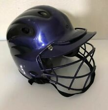 Wilson Batting Helmet, Model A5226 (6 3/4-7 3/4) with Batter's Helmet FaceGuard