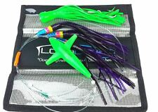 Lobo Lures Skip Jack Tuna Daisy Chain Glow Bird UV Concave Popper Stinger USA