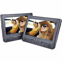 """Sylvania SDVD1037 10.1"""" Dual Screen Portable DVD Player"""