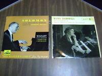 33 RPM Records   LOT OF 2 LANDOWSKA & SOLOMON RCA VICTOR