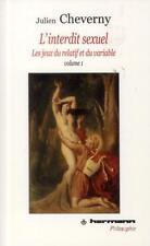 les interdits sexuels t.1 Cheverny  Julien Occasion Livre
