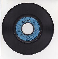 """Jimmy FREY Vinyl 45 tours 7"""" VIENS PASSER LA NUIT CHEZ MOI -PHILIPS 6021053 RARE"""