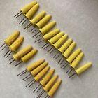 23 Mixed Retro Yellow Plastic Corn Cob Holders Handles Skewers Picks Servers Lot