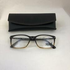 Persol PO 3189V 1026 Eyeglasses Brown Tortoise 55-18-145 Brand New
