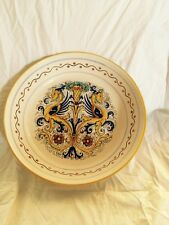 NOVA DERUTA Raffaellesco Bowl ~ Dragon Pattern Hand Painted ~ Medium . ITALY