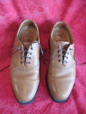 Allen Edmonds Comfort Orthotics Leather Oxfords 75365 2  Size 9 Camel