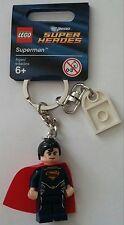 LEGO® DC Super Heroes Schlüsselanhänger 850813 Superman Neu Keychain Figur new