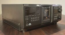 Sony CDP-CX400 Mega Storage 400 CD Changer Working