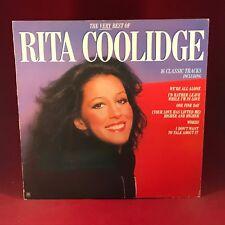 RITA COOLIDGE The Very Best Of 1981 UK vinyl LP AMLH68520 EXCELLENT CONDITION B