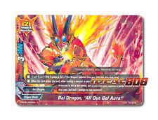 """Buddyfight x 4 Bal Dragon, """"All Out Bal Aura!"""" [D-BT01/0028EN R] English Mint Fu"""