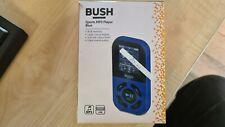 bush sports mp3 player mp50s 8gb blue