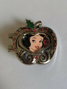 Snow White Silver Apple 2017 Holiday Cast Member Exclusive LE1000 Disney Pin