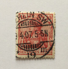 Early 1900's 10pf Red Deutsches Reich Germany Stamp