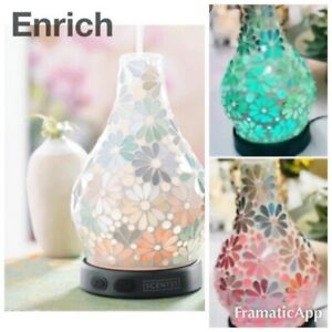 SCENTSY ENRICH SHADE Use w Your TEARDROP Diffuser ~NEW New Replmt Essential Oil
